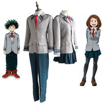 My Boku No Hero Academia Todoroki Shouto Costume Cosplay Uniforms School Suit