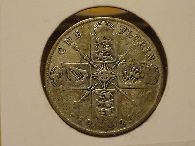 1923 UK Florin (2 Shillings) - Silver - George V (Great Britain)