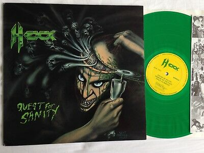 HEXX .. sanity LP 1.Press 1989 US Slayer Sacred Reich Pantera Carnivore Death