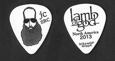Lamb of God black on white Guitar Pick #3