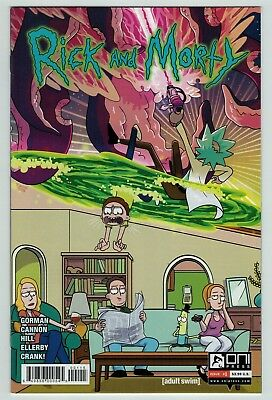 Rick and Morty 1 5th print cover Oni Press current series Hot title Adult Swim