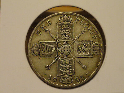 1921 UK Florin (2 Shillings) - Silver - George V (Great Britain)