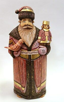 """G. DeBrekht """"Dressed Up Santa"""" Limited Edition 1 of 25 with Tag, Seal & COA"""