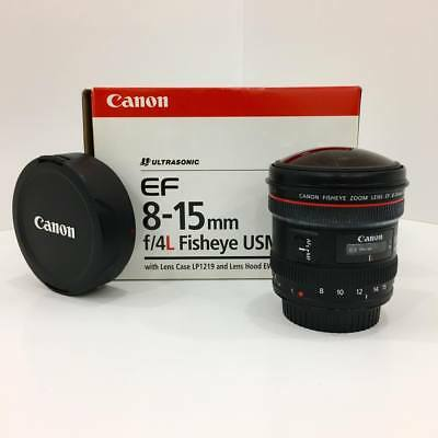 Canon EF 8-15mm f/4L Fisheye USM Ultra-Wide Zoom Lens for Canon EOS SLR - Used