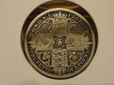1849 UK Florin (2 Shillings) - Silver - Victoria (Great Britain)