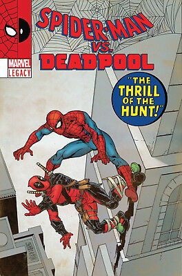 Spider-Man Deadpool #23 Marvel Legacy Lenticular Variant Cover LH 2017