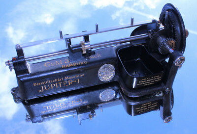 Jupiter 1 Bleistiftschärfmaschine von Guhl & Harbeck german pencil sharpener