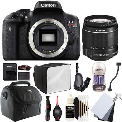 Canon EOS Rebel T6 DSLR Camera w/ 18-55mm EF-S IS STM Lens and Accessory Bundle