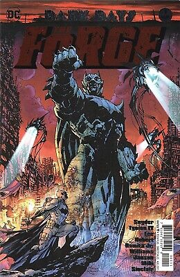 Dark Days The Forge 1 1St Print Foil Stamped Cover Batman Metal Tie Nm Sold Out