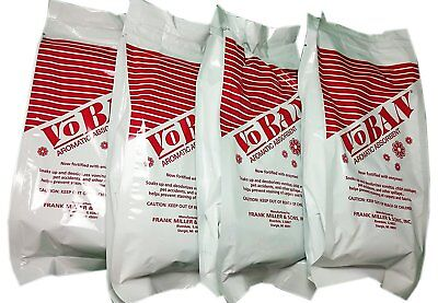 Voban (Vomit - Urine - Liquid Cleanup Absorbant) 4 Each 1 Lb Bags