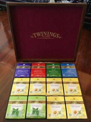Twinings Tea Chest Large 12 Compartments