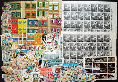 Middle East Mix Of Stamps Sheets S/s And Sets