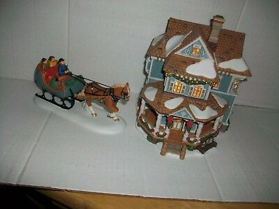 Dept. 56 WELCOME TO THE WINDHAM COUNTRY INN  New England Village #805528