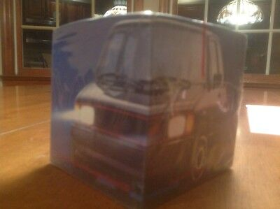 "1983 VW Volkswagen GTI ""Wolf in sheeps clothing"" promotional paper cube"