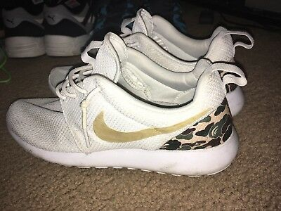 a6e25354283d MEN S NIKE ROSHE Run A Bathing Ape Bape Sz 9.5 Custom 100% Authentic SALE -   69.99