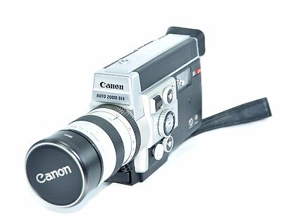 【WORKING】CANON 814 Electronic Super 8 Pristine Condition Fast f1.4 7.5-60mm Lens