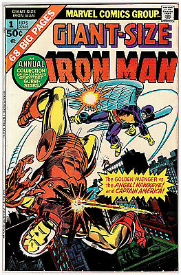 Marvel GIANT-SIZE IRON MAN # 1; PUBLISHED in 1975; VF-