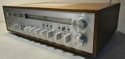 Vintage Yamaha CR-1020 Stereo Receiver -Cleaned- *Tested/Works* WATCH VIDEO