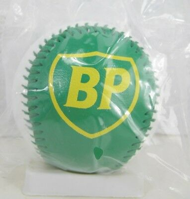 Green and White BP Logo Collectible Baseball