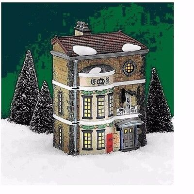 Dept 56 Dickens Village - Kings Road Post Office 58017 Retired Euc