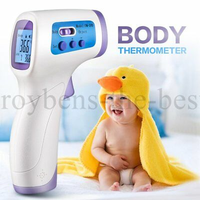 Baby Infrared Digital Thermometer Forehead Thermometer Reading Accuracy UK Stock