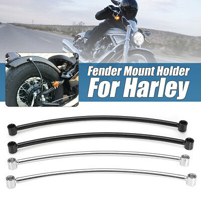 Rear Fender Rail Support Bracket Mount Holder Cruiser Cafe Racer Bobber Custom