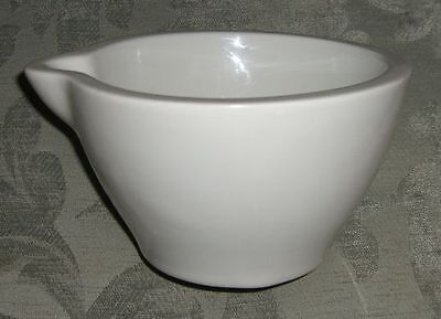 Vintage PILLIVUYT Apothecary Mortar (Pestle Missing)/ Made in France/ c.1940