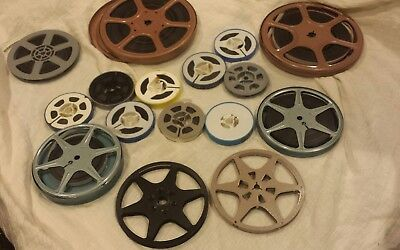 Mixed Lot of 13 Super 8/8mm Film Home Movies Film