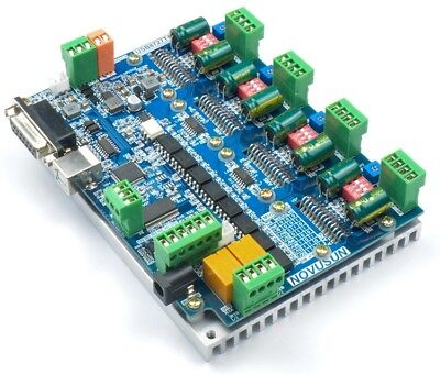CNC 4 Axis USB 8727T4 Mach3 Stepper Motor Driver Controller Interface Board