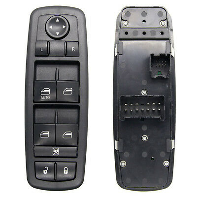 Master Window Switch Driver Side Dual Auto Down for Chrysler Dodge 4602632AF SS