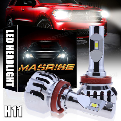 4Pcs LED H11 Low Beam Headlight Fog Light For 2008-2017 Freightliner Cascadia