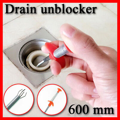 Drain unblocker,Cleaner ,Shower, Sink Clog Hair Wig Chain Remover Kitchen Tool