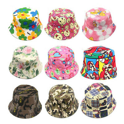 Baby Sun Caps Infant Flower Hat Bucket Hat Newborn Kids Girls Summer Cap CC