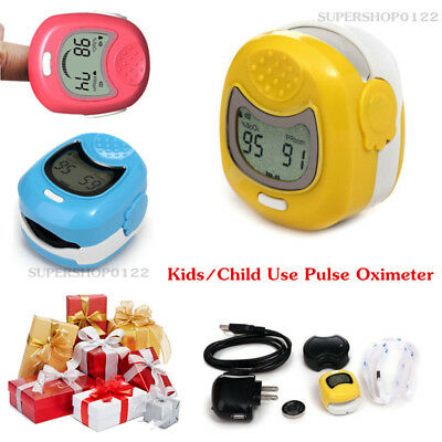 CMS50QA LCD kids child Pulse Oximeter pulse oxygen saturation pulse rate finger
