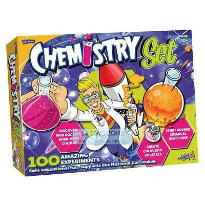 Kids Science Lab Sate Eductional Game Toy Chemistry Learning Set