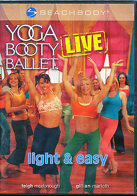Beachbody YOGA BOOTY BALLET LIVE ~ LIGHT & EASY ~ dvd