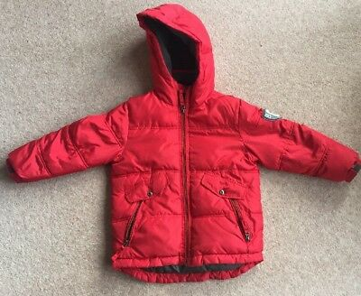 GapKids Red Puffer Jacket Age 6-7 Years