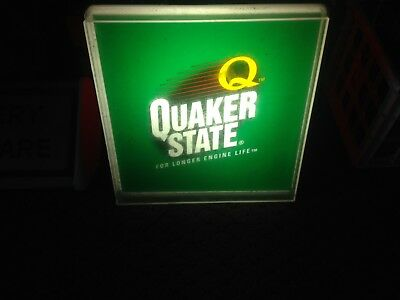 Vintage Quacker State Light Up Sign Works!