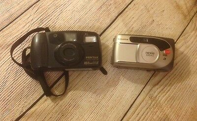 Lot of Two Older Model Cameras Great Value!!!