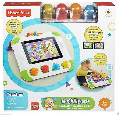 Fisher-Price Laugh & Learn Apptivity Creation Center Case For Ipad Device New!