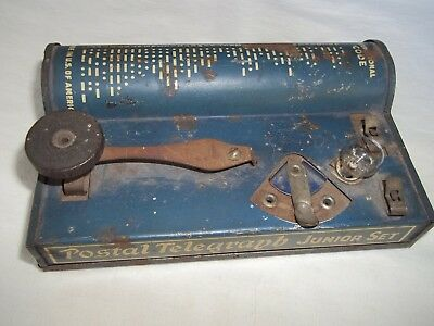 Vintage TRI-SIGNAL Telegraph Set By ELKAY Mfg. 1930s