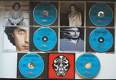Jean Michel Jarre - Complete Blue Face Cds Collection / Made In R.f.a By Dreyfus
