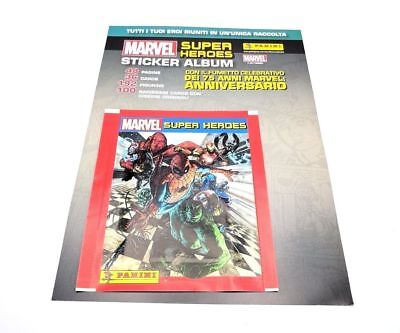 PANINI 25 Bustine MARVEL SUPER HEROES STICKERS Packets OMAGGIO 2017 LUCCA COMICS