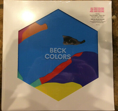 Beck Colors Colv Red Dlx Vinyl Lp New Cad 62 60