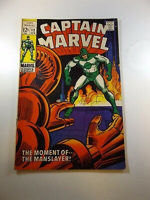 Captain Marvel #12 VG+ condition Huge auction going on now!
