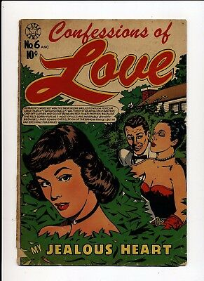 Confessions Of Love #6 Good 1951 Star L. B. Cole Cover