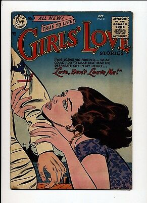 Girls' Love Stories #37 Vg+ 1955 Signal