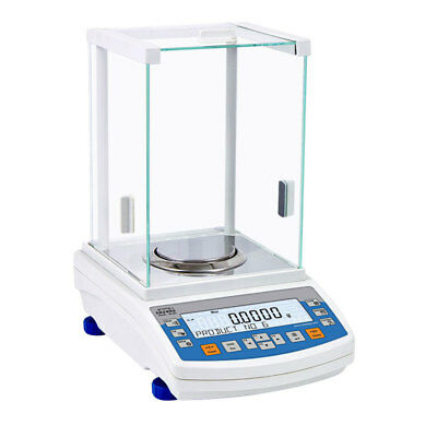 RADWAG AS 220.R2 Analytical Balance Laboratory Scale 220g x 0.1 Milligram RS232