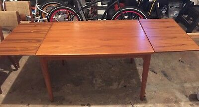 Mid Century Modern Danish style Dining Table and Chairs MCM