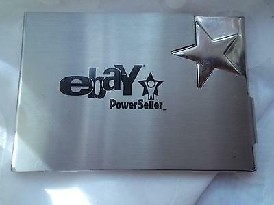 Ebay Power Seller Business Card Holder Perfect Condition Never Used